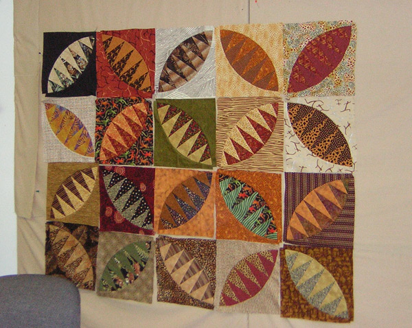 My quilt buddies - members of Frayed Edges
